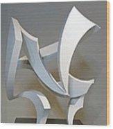 Wind Wood Print by John Neumann