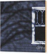 Window And Shadows Wood Print