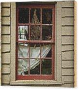 Window - Glimpse Into The Past Wood Print