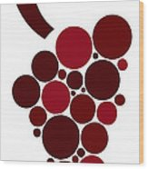 Wine Grape Wood Print by Frank Tschakert