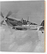 Wing Commander Johnnie Johnson Wood Print