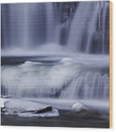 Winter Fall Wood Print