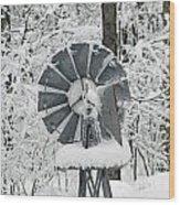 Winter Wind  Wood Print