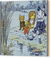 Wizard Of Oz, 1900 Wood Print