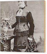 Women's Fashion, 1880s Wood Print