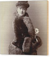 Women's Fashion, 1890 Wood Print