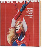 Woodstock, Us Poster Art, 1970 Wood Print