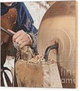 Woodturner Wood Print