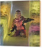 World Ice Art Championships, Child Wood Print