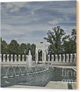World War 2 Memorial Wood Print