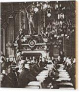 World War I Paris, 1919 Wood Print