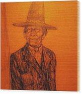 Wovoka Wood Print