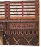 Wurlitzer Player Wood Print