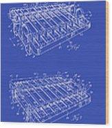 Xylophone Patent 1949 Wood Print