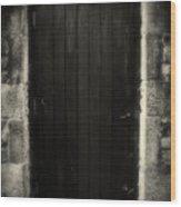 Victorian Cottage Door  Wood Print