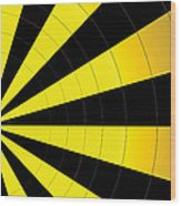 Yellow Jacket Wood Print
