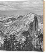 Yosemite Bw Wood Print
