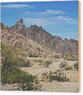 Yuma Desert Wood Print