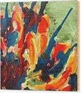Zenmoksha Floers Wood Print