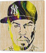 50 Cent Collection Wood Print