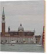 Acws In Venice Wood Print