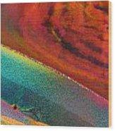 Agate Microworlds 1 Wood Print