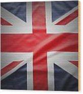 British Flag 17 Wood Print