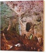 Carlsbad Cavern Wood Print