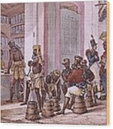 Debret, Jean Baptiste 1768-1848. A Wood Print