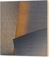 Disney Concert Hall Wood Print