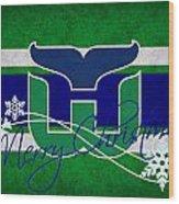 Hartford Whalers Wood Print