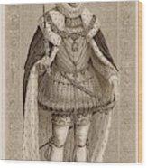 James I Of England James Vi Of Scotland Wood Print