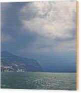 Lago Di Iseo Wood Print