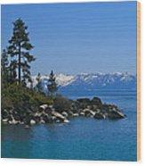Lake Tahoe Photography Art Wood Print