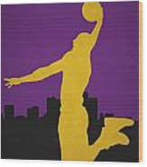 Los Angeles Lakers Wood Print