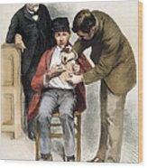 Louis Pasteur (1822-1895) Wood Print