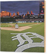 Minnesota Twins V Detroit Tigers Wood Print