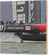 Oracle America's Cup Wood Print
