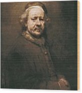 Rembrandt, Harmenszoon Van Rijn, Called Wood Print