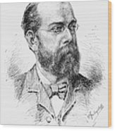 Robert Koch (1843-1910) Wood Print