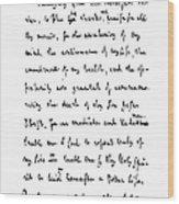 Samuel Johnson (1709-1784) Wood Print