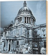 St Paul's Cathedral London Art Wood Print