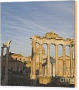 The Roman Forum Wood Print