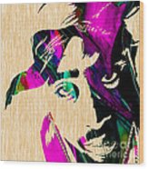 Tupac Collection Wood Print
