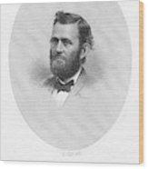 Ulysses S Wood Print