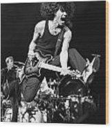 Van Halen - Eddie Van Halen Wood Print