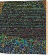 1000 Flowers On 1000 Steps Wood Print