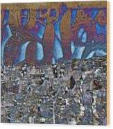 1001 Nights Over Granada Wood Print