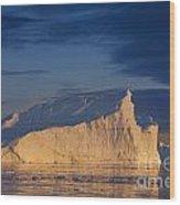101130p128 Wood Print