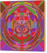 1015 Abstract Thought Wood Print